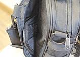 Тактическая универсальная сумка на плечо Silver Knight с системой M.O.L.L.E (102-black), фото 5