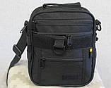 Тактическая универсальная сумка на плечо Silver Knight с системой M.O.L.L.E (102-black), фото 7