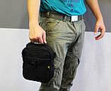 Тактическая универсальная сумка на плечо Silver Knight с системой M.O.L.L.E (102-black), фото 10