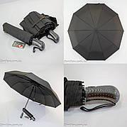 "Президентский зонт полуавтомат с куполом 119 см. ""анти-ветер"" на 10 спиц от фирмы ""Feeling Rain"""