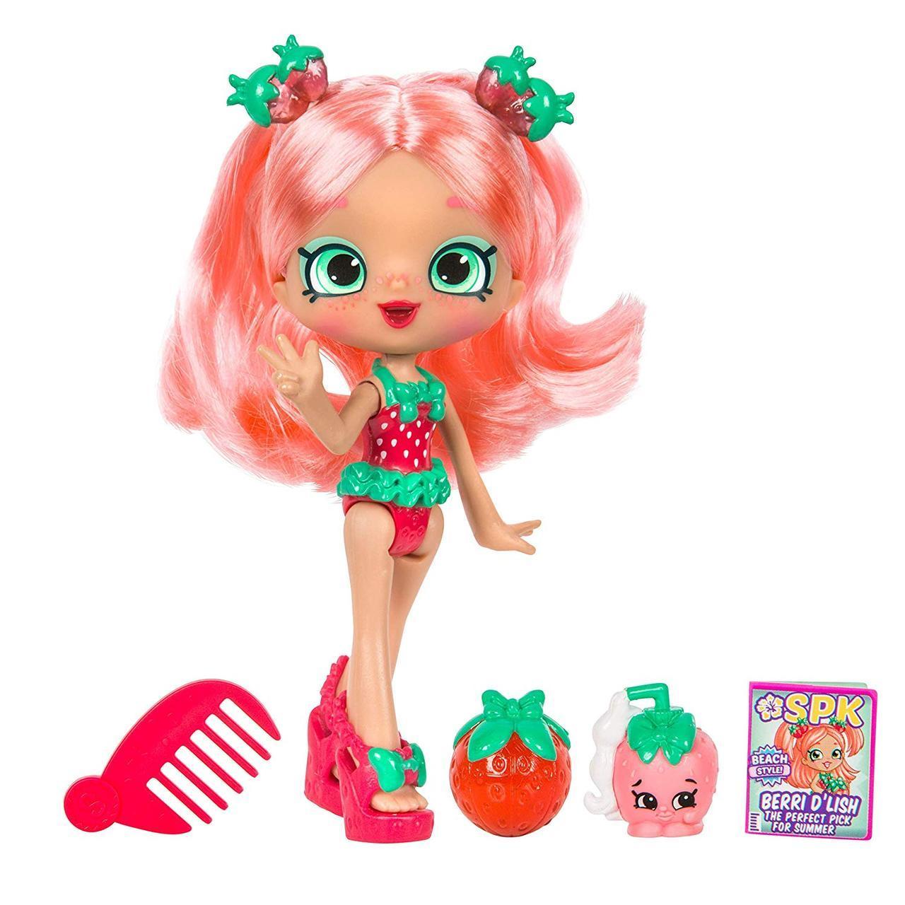 Кукла Шопкинс Клубничка Берри Пляжный сезон Shopkins Shoppies Beach Style - Berri D'lish оригинал