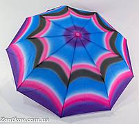 "Женский зонт полуавтомат с каркасом ""анти-ветер"" от фирмы ""Sunn Rain""."