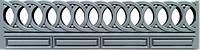 Формы заборов. Форма для бетонных заборов. Форма для еврозабора из АбС №53