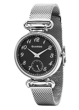Часы женские Guardo 11894-1 серебряные, фото 2