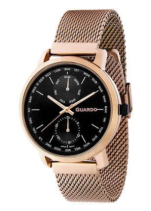 Часы мужские Guardo 11897-5 золотистые, фото 2