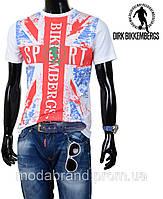 Стильная молодежная мужская футболка,распродажа