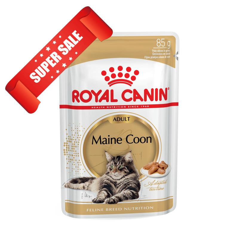 Влажный корм для котов Royal Canin Maine Coon Adult 85 г