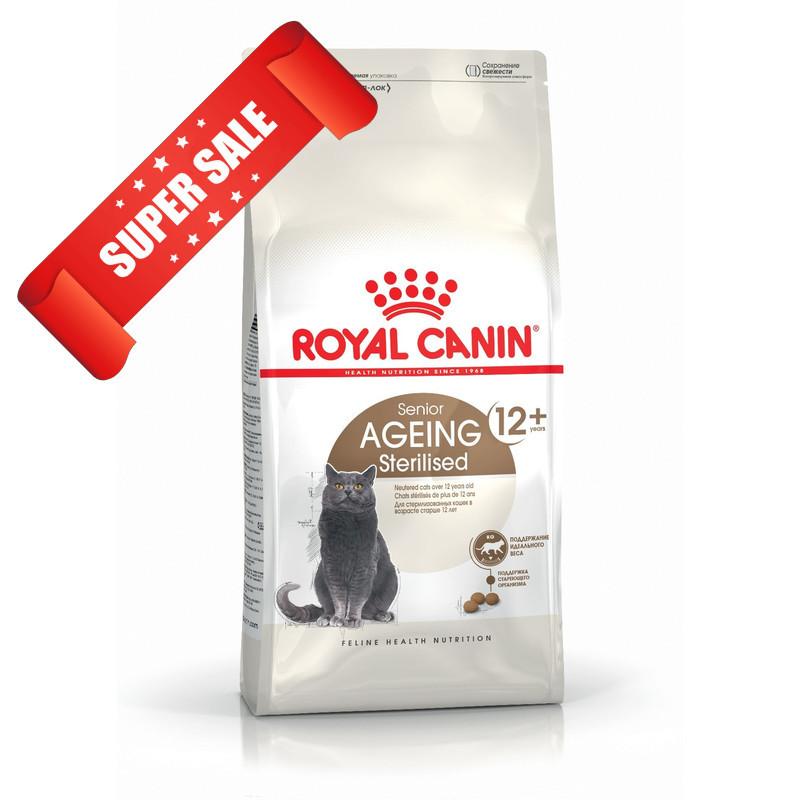 Сухой корм для котов Royal Canin Ageing Sterilised 12+ 0,4 кг