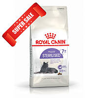 Сухой корм для котов Royal Canin Sterilised 7+ 0,4 кг