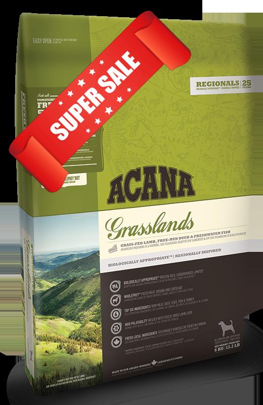 Сухой корм для собак Acana Grasslands Dog 11,4 кг