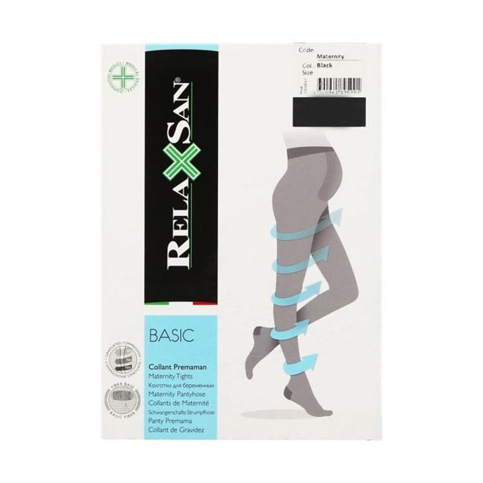 Компрессионные колготки для беременных 1 класса лечебные от врикоза RelaXsan Basic 140 Den 891 18-22 mmHg