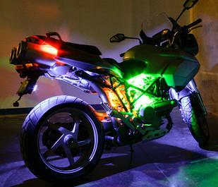 Светодиодная подсветка для мототехники