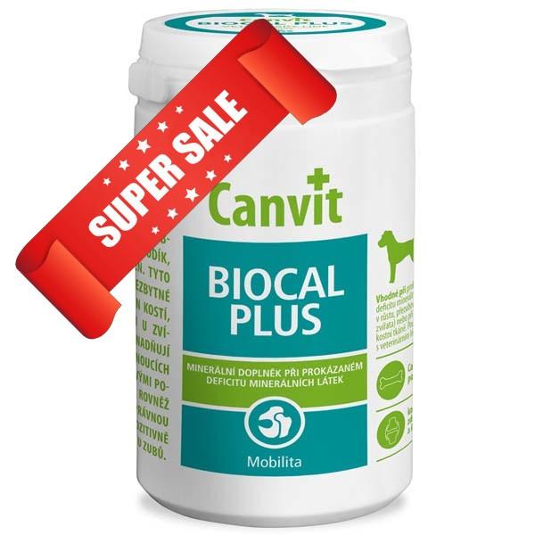 Витамины для собак Canvit Biocal Plus 230 г