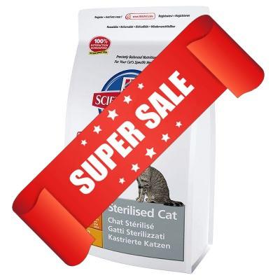 Сухой корм для котов Hill's Science Plan Feline Young Adult Sterilised Cat Chicken 0,3 кг