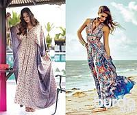 Главные тенденции летнего сезона 2015 года: длинные платья