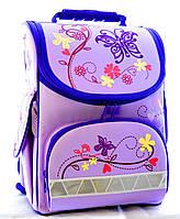 Школьный рюкзак для девочки с ортопедической спинкой Tiger Nature Quest