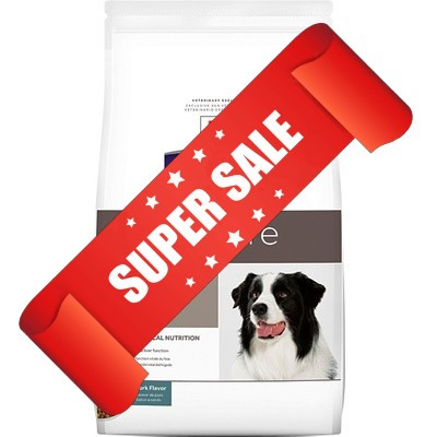 Лечебный сухой корм для собак Hill's Prescription Diet Canine l/d 12 кг