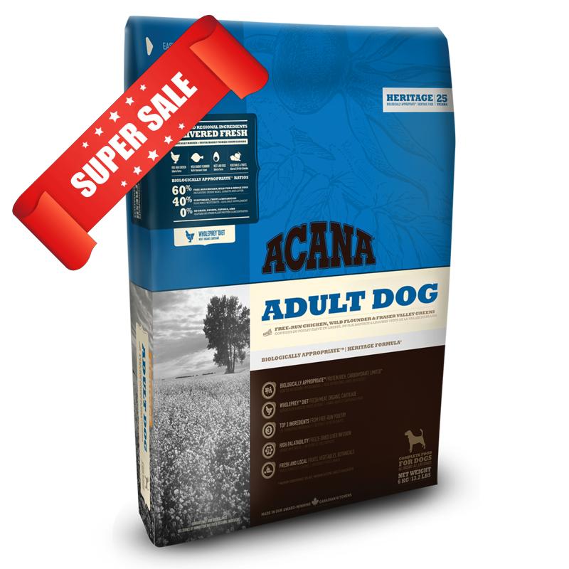 Сухой корм для собак Acana Adult Dog 11,4 кг