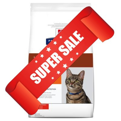 Лечебный сухой корм для котов Hill's Prescription Diet Feline k/d 0,4 кг