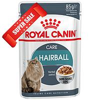 Влажный корм для котов Royal Canin Hairball Care Sauce 85 г