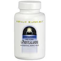 Фенилаланин (L-Phenylalanine) Source Naturals  500 мг 100 таблеток