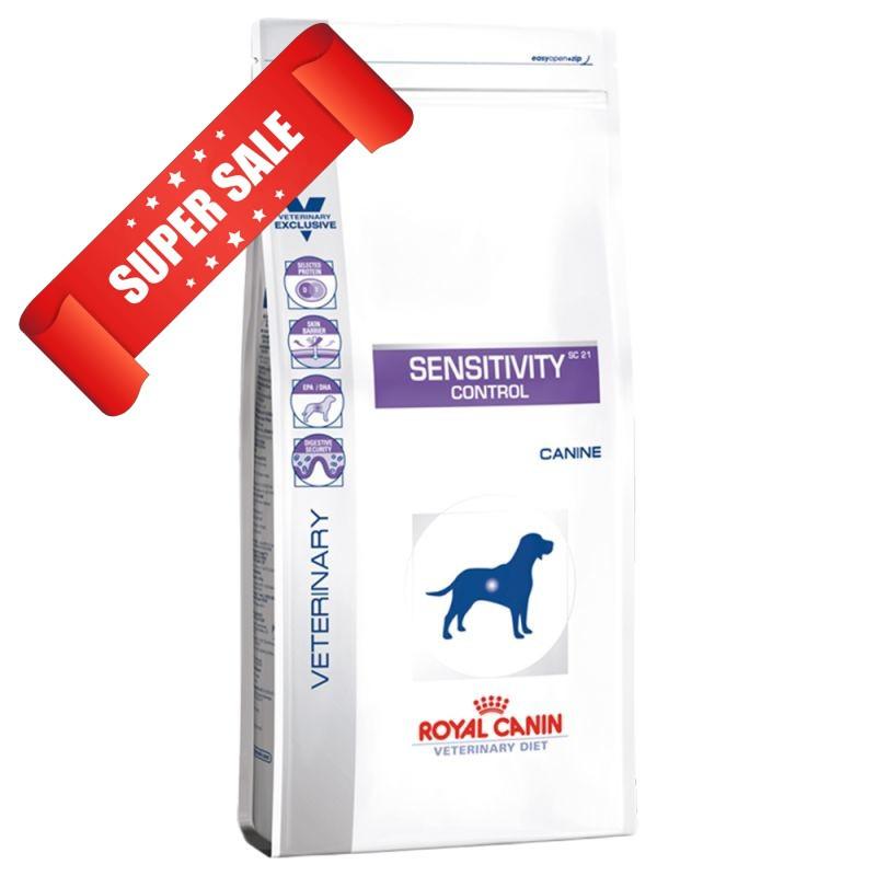 Лечебный сухой корм для собак Royal Canin Sensitivity Control Canine 1,5 кг