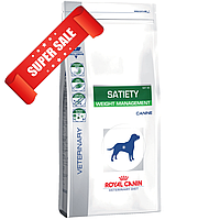 Лечебный сухой корм для собак Royal Canin Satiety Weight Management Canine 12 кг