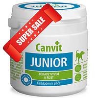 Витамины для собак Canvit Junior 100 г