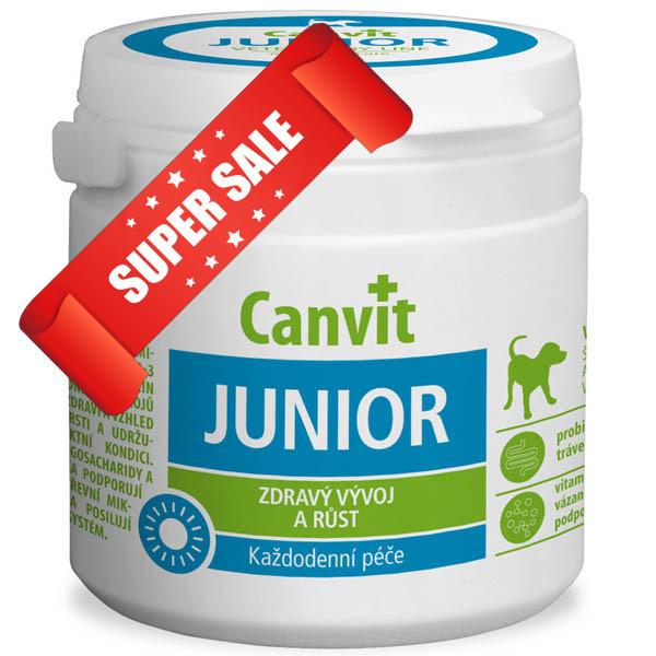 Витамины для собак Canvit Junior 230 г