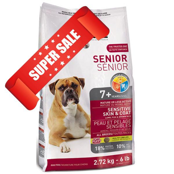 Сухой корм для собак 1st Choice Senior Sensitive Skin & Coat All Breeds 2,72 кг