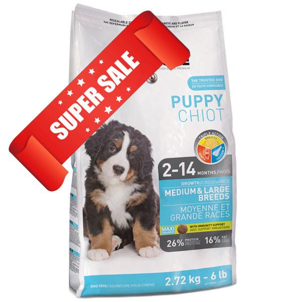 Сухой корм для собак 1st Choice Medium & Large Breeds Puppy 2,72 кг