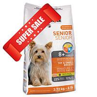 Сухой корм для собак 1st Choice Senior Toy & Small Breeds 2,72 кг