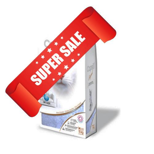 Кварцевый наполнитель для кошачьего туалета Capsull Original 7,2 кг