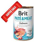 Влажный корм для собак Brit Pate & Meat Salmon 400 г