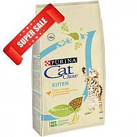 Сухой корм для котов Purina Cat Chow Kitten 0,4 кг