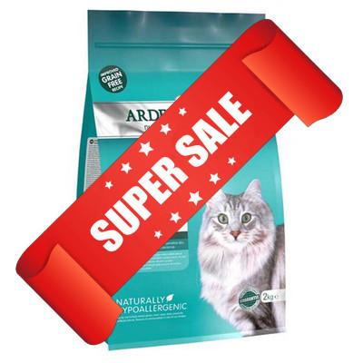 Сухой корм для котов Arden Grange Sensitive Ocean White Fish & Potato 2 кг
