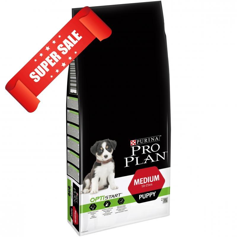 Сухой корм для собак Purina Pro Plan Medium Puppy 12 кг