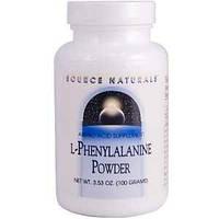 Фенилаланин (L-Phenylalanine) порошок Source Naturals  100 гр