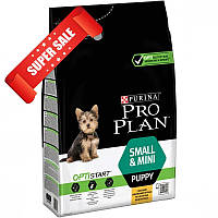 Сухой корм для собак Purina Pro Plan Small & Mini Puppy 3 кг