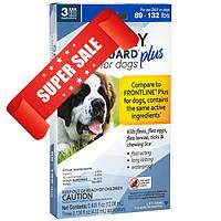 Капли от блох, клещей и вшей Sentry FiproGuard Plus для собак весом от 40 до 60 кг 4,02 мл