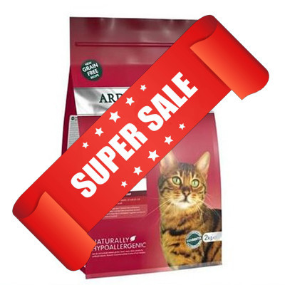 Сухой корм для котов Arden Grange Adult Fresh Chicken & Potato 2 кг
