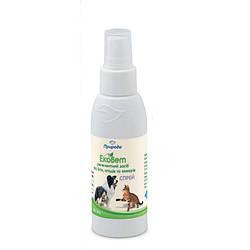 Спрей ЕкоВет від бліх,кліщів і комарів для собак 100мл