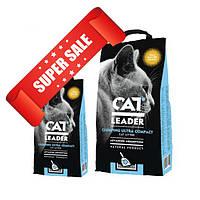 Ультра-комкующийся наполнитель для кошачьего туалета Cat Leader Clumping Ultra Compact Wild Nature Aroma 2 кг