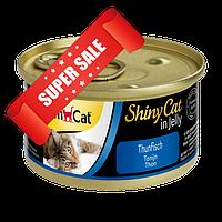 Влажный корм для котов GimCat ShinyCat in Jelly Тунец 70 г