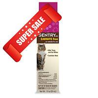 Капли для котов от ушних клещей Sentry Earmite Free с алоэ 29 мл