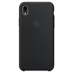 Чехол накладка Silicone Case для iPhone XR - Black