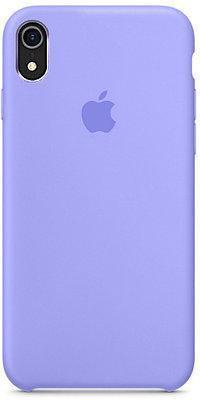 Чехол накладка Silicone Case для iPhone XR - Violaceous