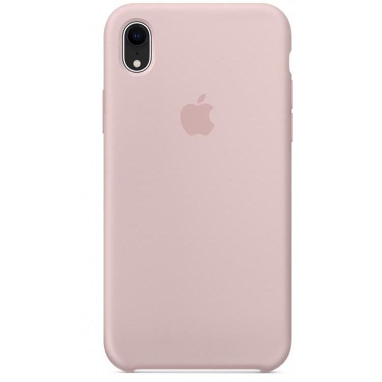 Чохол накладка Silicone Case для iPhone XR - Pink Sand