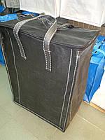 Сумка баул вертикальная чёрная  70 х 60 х 35 см