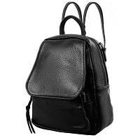 Сумка-рюкзак женская кожаная vito torelli (ВИТО  ТОРЕЛЛИ) vt-1906-black